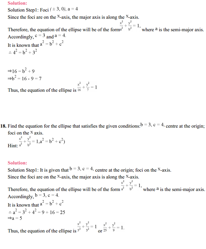 NCERT Solutions for Class 11 Maths Chapter 11 Conic Sections Ex 11.2 20