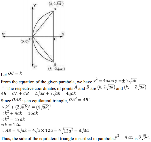 NCERT Solutions for Class 11 Maths Chapter 11 Conic Sections Miscellaneous Exercise 10