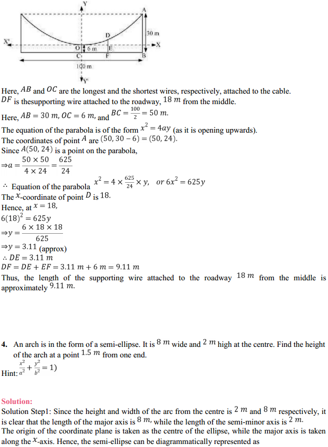 NCERT Solutions for Class 11 Maths Chapter 11 Conic Sections Miscellaneous Exercise 3