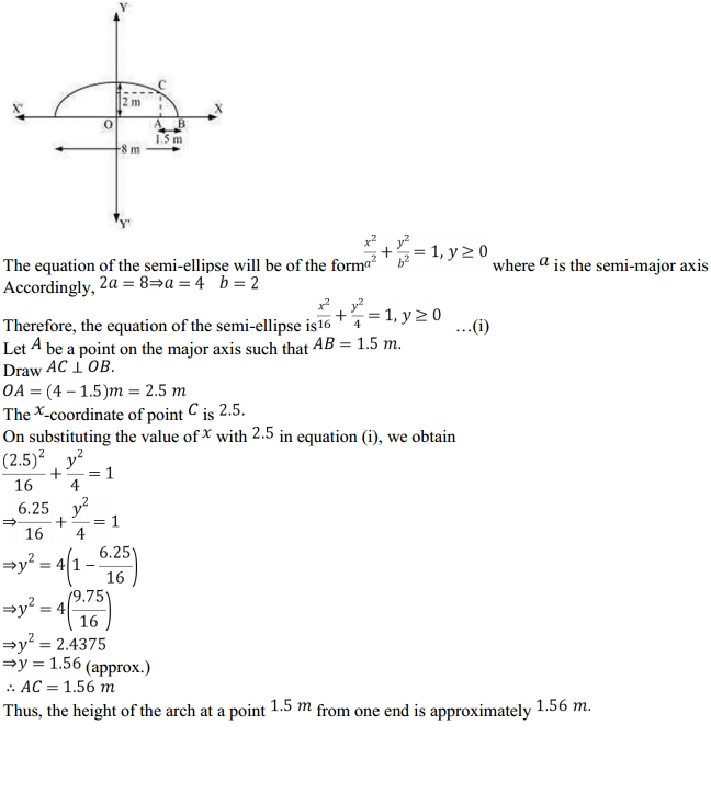NCERT Solutions for Class 11 Maths Chapter 11 Conic Sections Miscellaneous Exercise 4