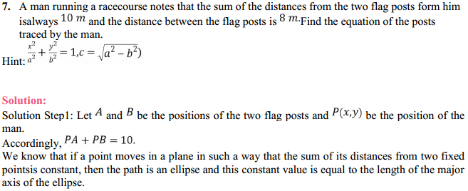 NCERT Solutions for Class 11 Maths Chapter 11 Conic Sections Miscellaneous Exercise 8