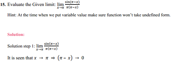 NCERT Solutions for Class 11 Maths Chapter 13 Limits and Derivatives Ex 13.1 11