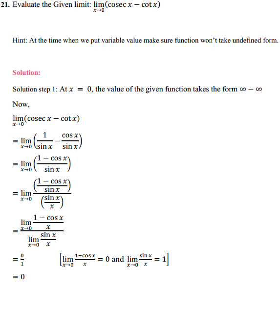 NCERT Solutions for Class 11 Maths Chapter 13 Limits and Derivatives Ex 13.1 15