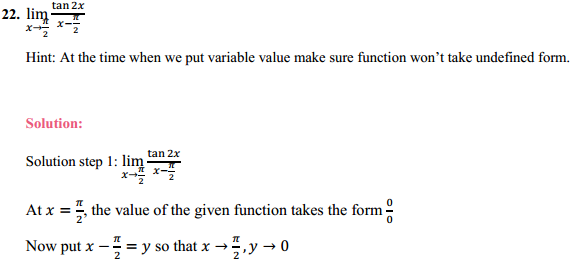 NCERT Solutions for Class 11 Maths Chapter 13 Limits and Derivatives Ex 13.1 16