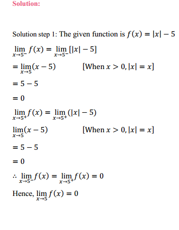 NCERT Solutions for Class 11 Maths Chapter 13 Limits and Derivatives Ex 13.1 22