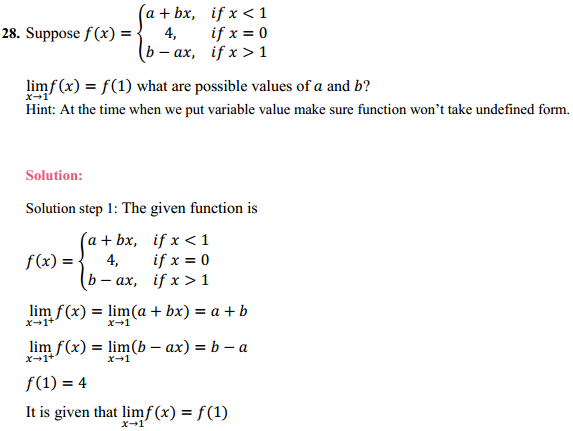 NCERT Solutions for Class 11 Maths Chapter 13 Limits and Derivatives Ex 13.1 23
