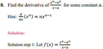 NCERT Solutions for Class 11 Maths Chapter 13 Limits and Derivatives Ex 13.2 10