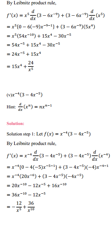 NCERT Solutions for Class 11 Maths Chapter 13 Limits and Derivatives Ex 13.2 15
