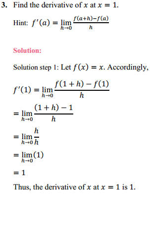 NCERT Solutions for Class 11 Maths Chapter 13 Limits and Derivatives Ex 13.2 2