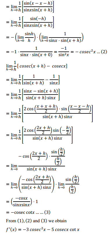 NCERT Solutions for Class 11 Maths Chapter 13 Limits and Derivatives Ex 13.2 23
