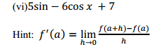 NCERT Solutions for Class 11 Maths Chapter 13 Limits and Derivatives Ex 13.2 24