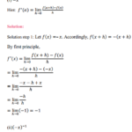 NCERT Solutions for Class 11 Maths Chapter 13 Limits and Derivatives Miscellaneous Exercise 1