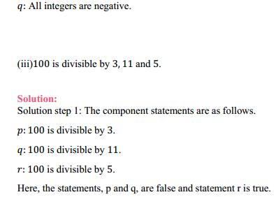 NCERT Solutions for Class 11 Maths Chapter 14 Mathematical Reasoning Ex 14.2 3