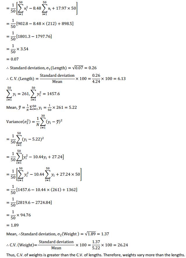 NCERT Solutions for Class 11 Maths Chapter 15 Statistics Ex 15.3 11