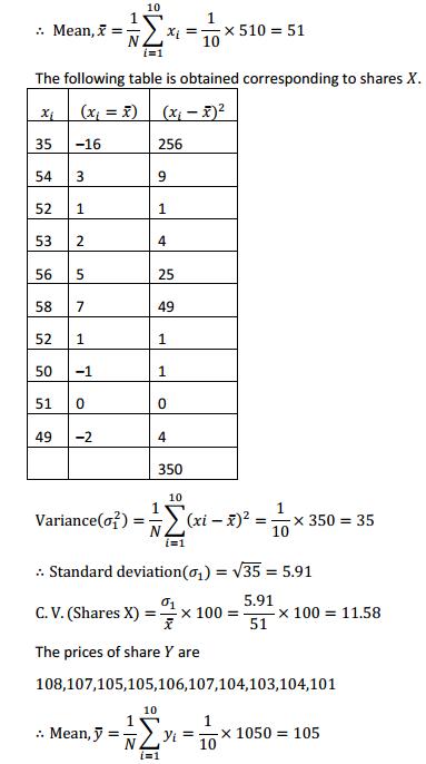 NCERT Solutions for Class 11 Maths Chapter 15 Statistics Ex 15.3 4