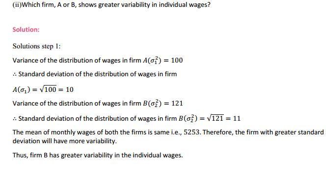 NCERT Solutions for Class 11 Maths Chapter 15 Statistics Ex 15.3 7