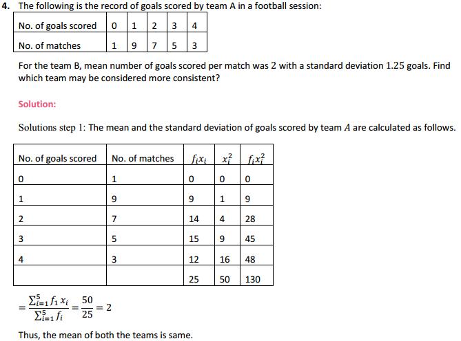 NCERT Solutions for Class 11 Maths Chapter 15 Statistics Ex 15.3 8