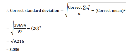 NCERT Solutions for Class 11 Maths Chapter 15 Statistics Miscellaneous Exercise 12