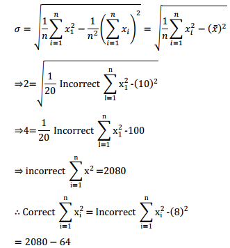 NCERT Solutions for Class 11 Maths Chapter 15 Statistics Miscellaneous Exercise 7