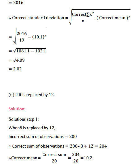 NCERT Solutions for Class 11 Maths Chapter 15 Statistics Miscellaneous Exercise 8