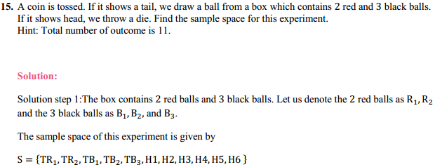 NCERT Solutions for Class 11 Maths Chapter 16 Probability Ex 16.1 7