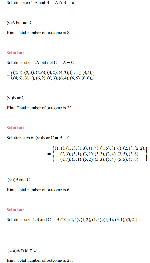 NCERT Solutions for Class 11 Maths Chapter 16 Probability Ex 16.2 10
