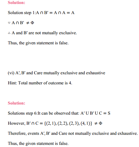 NCERT Solutions for Class 11 Maths Chapter 16 Probability Ex 16.2 14