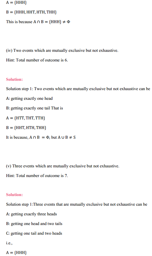 NCERT Solutions for Class 11 Maths Chapter 16 Probability Ex 16.2 7
