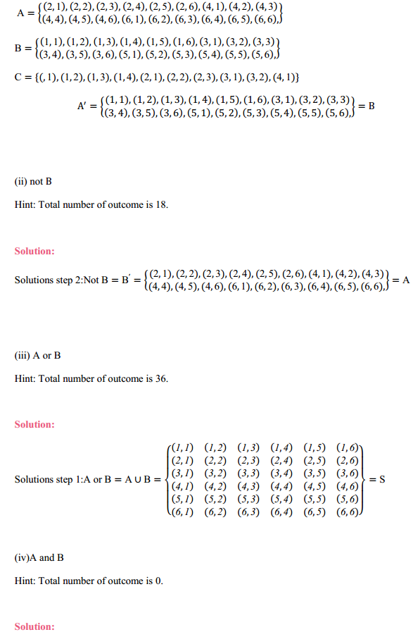 NCERT Solutions for Class 11 Maths Chapter 16 Probability Ex 16.2 9